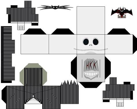 Skellington Papercraft - skellington by hollowkingking on deviantart