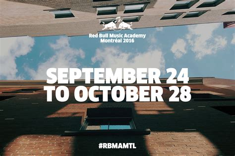 red house music academy red bull music academy findet in diesem jahr in montr 233 al statt fazemag