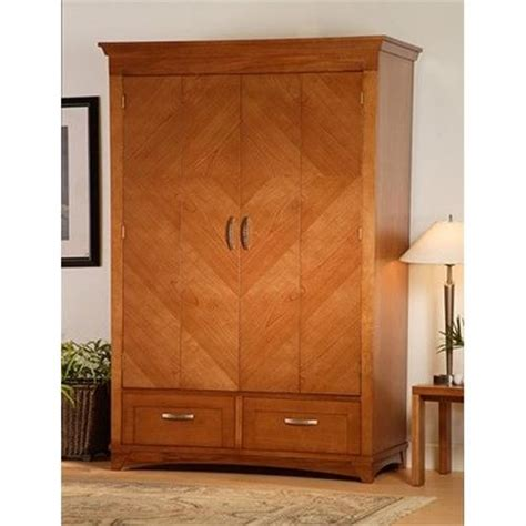 Armoire Def innovative soho high definition cabineted armoire entertainment center cherry shd nc