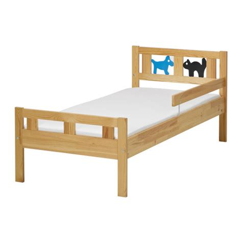 kritter bed frame and guard rail ikea