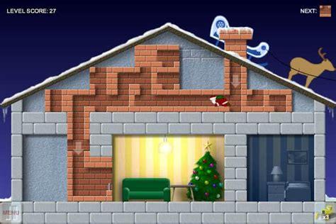 santas chimney trouble game funnygamesin
