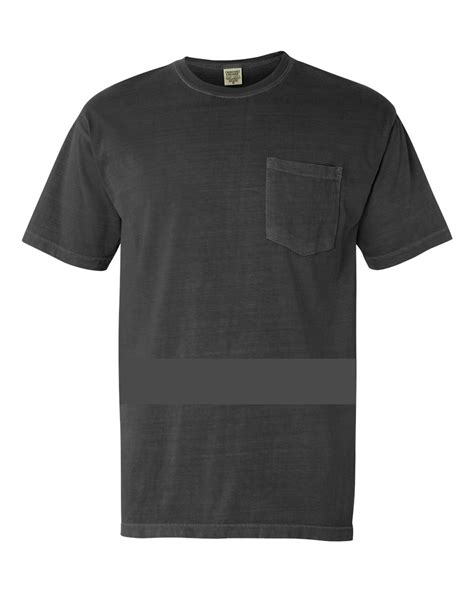 Plain Color T Shirt By Origin 1 comfort colors shirt t 6 1oz pocket mens sleeve plain crew neck 6030cc xl pepper ebay