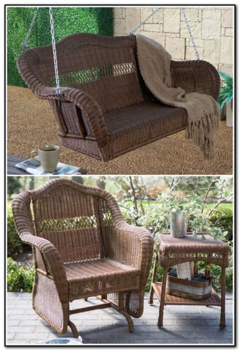 brown wicker patio furniture big lots patios home