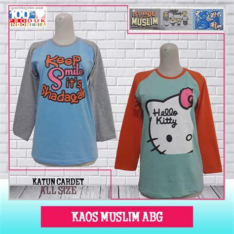 Baju Kaos Abg by Pusat Kaos Muslim Abg Murah Pusat Bisnis Grosir Murah