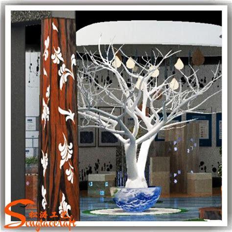 ventas dd crismas artificiale albero no senza foglie rami bianco per albero decorativo ramo di alberi tronco in