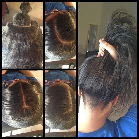 pics of partial side sewing hair weave partial sew in weave ponytail yelp