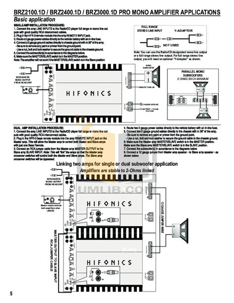 hifonics brutus wiring diagram wiring diagram and