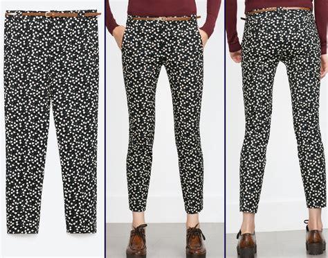zara patterned jeans kate middleton zara floral flower print trousers pants