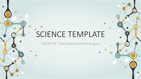 ฟร เทมเพลต ว ทยาศาสตร Free Powerpoint Template Science Powerpoint Hub Free Science Powerpoint Templates Backgrounds