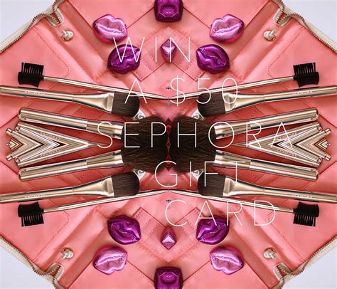 Sephora Giveaway - leave a comment for a chance to win a 50 sephora e gift card ends monday makeup