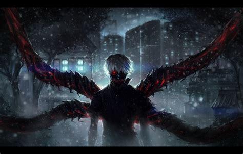 Hd Tokyo Ghoul Iphone Dan Semua Hp 1 wallpaper tokyo ghoul anime darkness ken kanek white hair images for