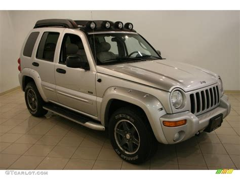 jeep renegade silver 2003 bright silver metallic jeep liberty renegade 4x4