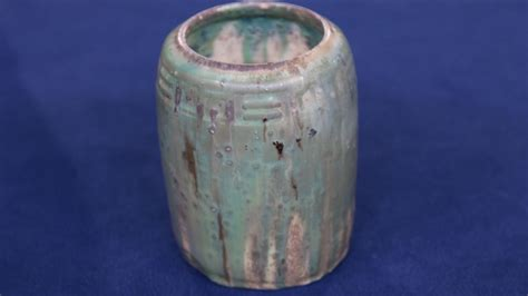 Scarab Vase by Get To Robineau Antiques Roadshow Pbs