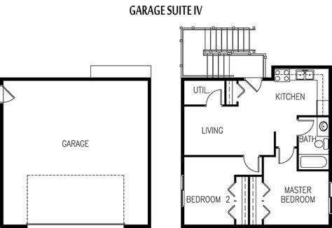 garage with apartment above floor plans edmonton garage suite builder garage apartment plans