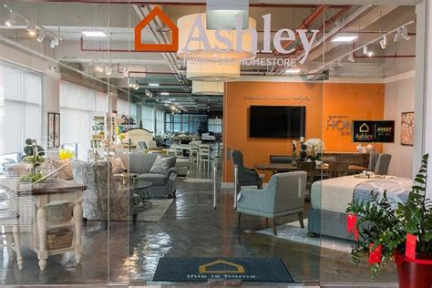 popular american furniture store ashley furniture homestore opens  singapore home decor