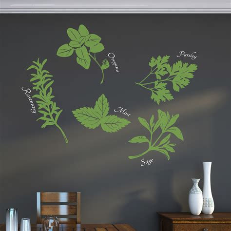 herbs on wall wall decor wallums com wall decor