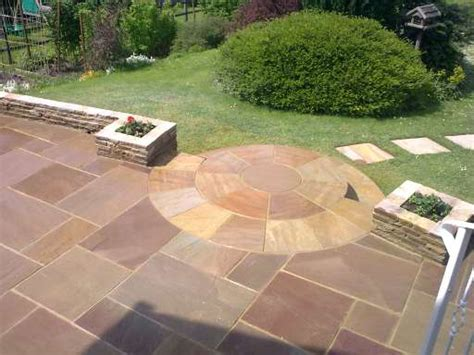 Wiltshire Garden Paving And Walling Indian Patio Design