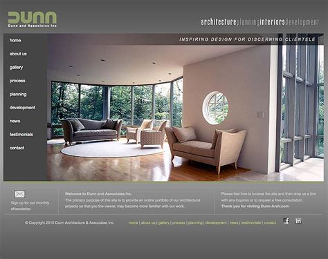 architecture design websites dunn architecture website ocreations a pittsburgh design
