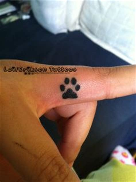 tattoo finger dog cat paws watercolour and google on pinterest