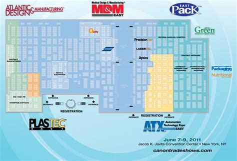 javits center floor plan green manufacturing expo jun 2011 green manufacturing