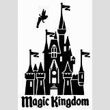 Disney Castle Silhouette With Tinkerbell | 570 x 846 jpeg 44kB