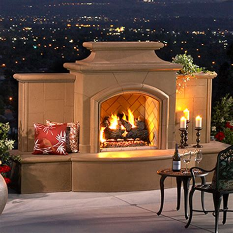 Spa Fireplace by Outdoor Fireplaces Valley Spa Doctor