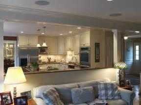 Open Kitchen And Living Room Designs by Looks Beautiful For Opening Up The Kitchen Dining Room
