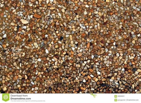 Washed Gravel Cost Washed Gravel Floor Texture Stock Photo Image 59606831