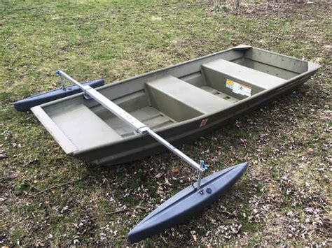 outriggers for small boats castlecraft stabilzers jon and semi vee boats
