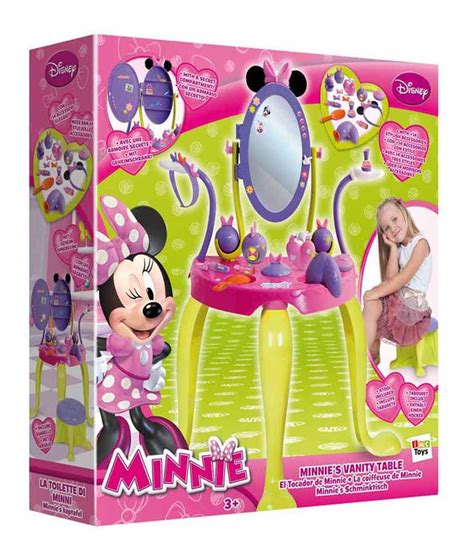 Minnie Mouse Vanity by Imc Minnie S Vanity Set With Legs And Stool Activity Sets