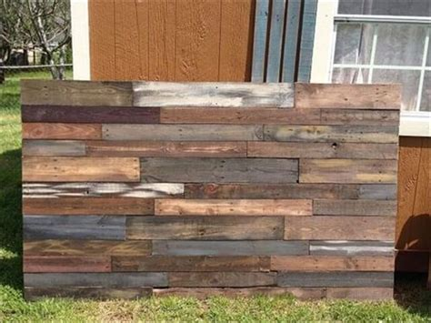 headboards made with pallets 16 wonderful diy pallet headboard ideas diy to make