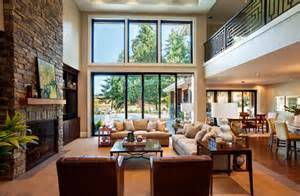 American Home Interior stately contemporary rustic interior design home by