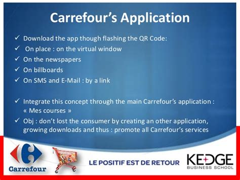 si鑒e social carrefour one year of mobile marketing operations carrefour