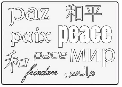 imagenes para pintar sobre el respeto d 237 a escolar de la paz y la no violencia dibujos para