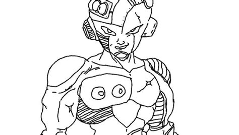 dragon ball z frieza coloring pages frieza coloring page 3 by metalhead211 on deviantart