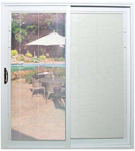 Sliding Patio Door With Blinds Blinds For Patio Sliding Doors Patio Sliding Patio Door Blinds Home Interior Design