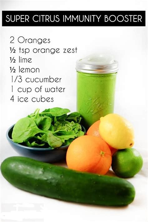 Detox Smoothie Recipes For Autoimmune Disease by 25 Best Ideas About Immune System Boosters On