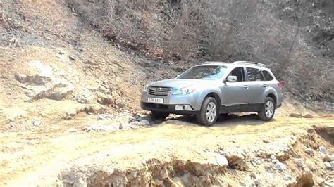 subaru outback off road subaru outback off road test 01 youtube