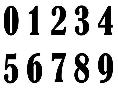 printable old english numbers plantillas de n 250 meros grandes imagui