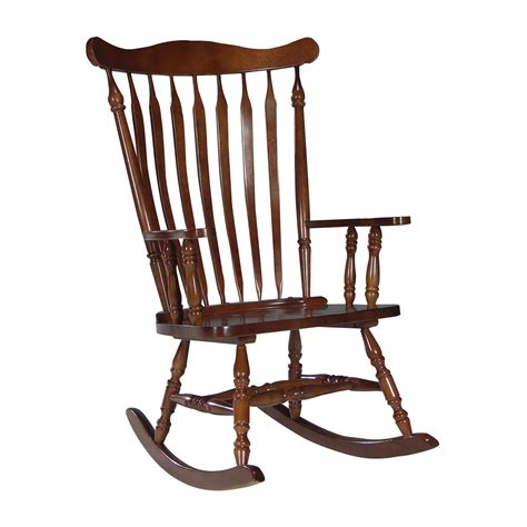 Cherry Rocking Chair - international concepts colonial rocking chair cherry