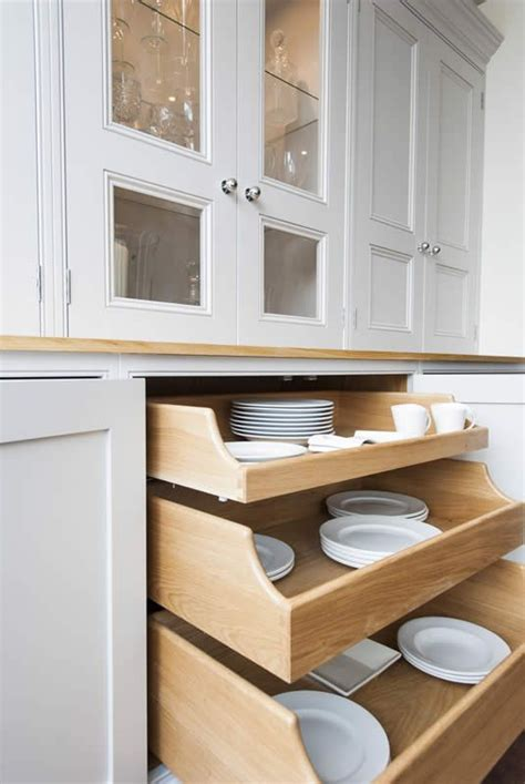 pull out drawers for kitchen cabinets storage solutions pull out drawers for dishes within the