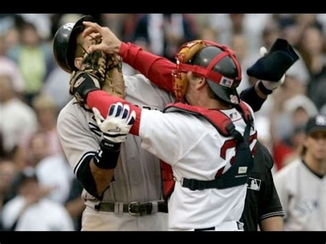 red sox yankees benches clear new york yankees boston red sox brawls hockey focus