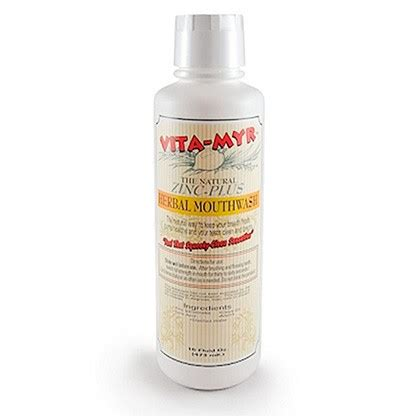 Herbal Zinc vita myr zinc plus herbal mouthwash
