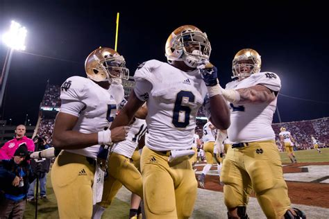 Notre Dame Mba Chicago Ranking by College Football Rankings Ap Poll Week 10 Notre Dame