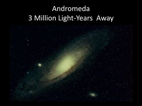 Light Years Away by Ppt Space Exploration Chapter 1 Powerpoint Presentation