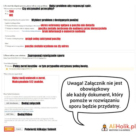 aliexpress zwrot pieniedzy jak otworzyć sp 243 r na aliexpress poradnik aliholik pl
