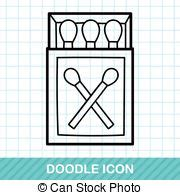 doodle matches matchbox drawing clipart vector graphics 73 matchbox