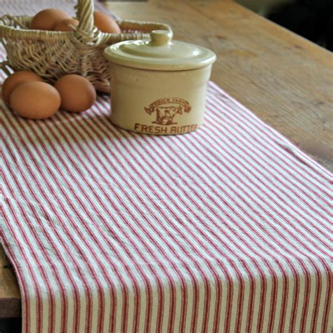 country table runners farmhouse table runner country table runner ticking stripe