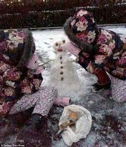 My Snowman Fiancee melanie sykes takes boys sledding whilst fiance