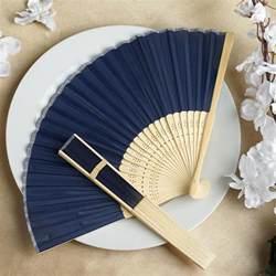 wedding fans in bulk 100 silk folding handheld fans summer wedding party favors